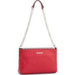 Torebka LOVE MOSCHINO - JC4128PP15L20500  Rosso. Czerwone torebki do ręki damskie Love Moschino, ze skóry. W wyprzedaży za 529.00 zł.