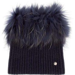 Komin LIU JO - Collo Di Pelliccia N67278  Dress Blue 94024. Szare szaliki i chusty damskie marki Giacomo Conti, na zimę, z tkaniny. W wyprzedaży za 349.00 zł.