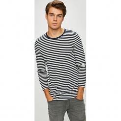 Premium by Jack&Jones - Longsleeve. Szare bluzki z długim rękawem męskie Premium by Jack&Jones, z bawełny, z okrągłym kołnierzem. W wyprzedaży za 99.90 zł.
