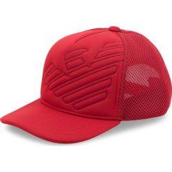Czapka z daszkiem EMPORIO ARMANI - 404569 8A526 04276  Red Dark. Czerwone czapki i kapelusze męskie Emporio Armani. Za 269.00 zł.