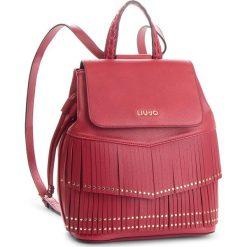 Plecak LIU JO - M Backpack Brera N68194 E0031 Red 91656. Czerwone plecaki damskie Liu Jo, ze skóry ekologicznej, eleganckie. Za 649.00 zł.