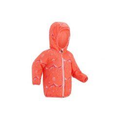 Kurtka na sanki Warm Reverse dla maluchów. Czerwone kurtki męskie WED'ZE, z nadrukiem, z materiału. Za 99.99 zł.