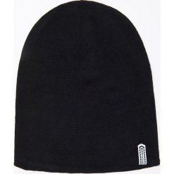 Dwustronna czapka beanie - Czarny. Czarne czapki i kapelusze męskie Cropp. Za 29.99 zł.