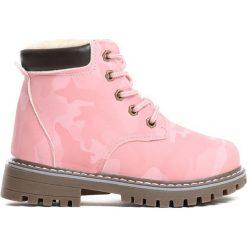 Różowe Traperki Piece Of Me. Czerwone buty zimowe dziewczęce Born2be, z materiału. Za 69.99 zł.
