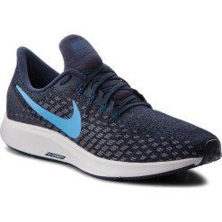 Buty NIKE - Air Zoom Pegasus 35 942851 401 Obsidian/Blue Hero/Gunsmoke. Niebieskie buty sportowe męskie Nike, z materiału. W wyprzedaży za 349.00 zł.