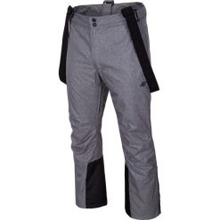 Spodnie narciarskie męskie SPMN350 - średni szary melanż. Spodnie snowboardowe męskie marki WED'ZE. Za 249.99 zł.