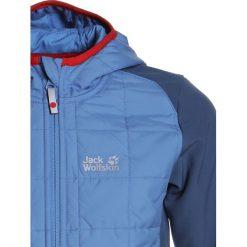 Jack Wolfskin GRASSLAND HYBRID Kurtka Softshell wave blue. Kurtki i płaszcze dla chłopców Jack Wolfskin, z elastanu. W wyprzedaży za 341.10 zł.