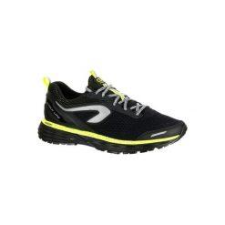 Buty do biegania KIPRUN LONG hydrofobowe męskie. Czarne buty sportowe męskie KALENJI, z gumy. Za 269.99 zł.