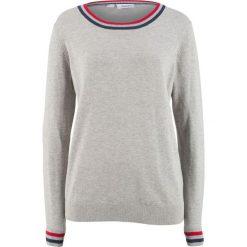 Sweter bonprix jasnoszary melanż. Szare swetry damskie bonprix. Za 74.99 zł.