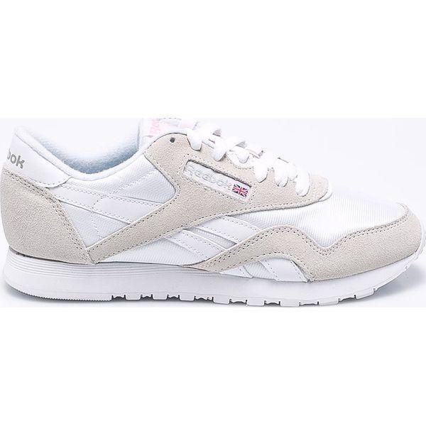 Wyprzedaż białe obuwie damskie Reebok Kolekcja wiosna