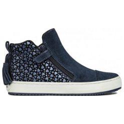 Geox Tenisówki Dziewczęce Kalispera 34 Niebieski. Niebieskie buty sportowe dziewczęce Geox, z gumy. Za 299.00 zł.