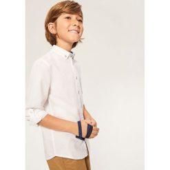 Bawełniana koszula - Biały. Koszule dla chłopców marki bonprix. Za 99.99 zł.