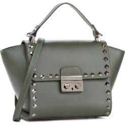 Torebka CREOLE - K10418 Zielony. Zielone torebki do ręki damskie Creole, ze skóry. W wyprzedaży za 229.00 zł.