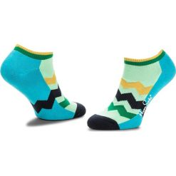 Skarpety Niskie Unisex HAPPY SOCKS - ATZST05-4000 Niebieski Zielony. Skarpety damskie Happy Socks, z bawełny. Za 39.90 zł.