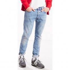 """Dżinsy """"501®"""" - Skinny fit - w kolorze błękitnym. Niebieskie jeansy męskie Levi's. W wyprzedaży za 239.95 zł."""