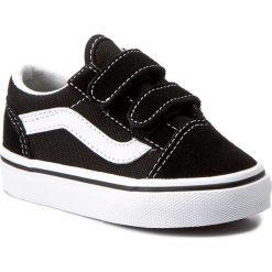 Półbuty VANS - Old Skool V VN000D3YBLK Black. Półbuty chłopięce Vans, z materiału. Za 149.00 zł.