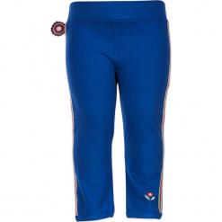 """Legginsy """"Dakota"""" w kolorze niebieskim. Legginsy dla dziewczynek marki OROKS. W wyprzedaży za 49.95 zł."""