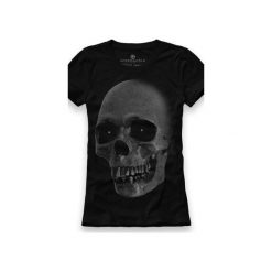 Koszulka UNDERWORLD Ring spun cotton Czaszka. Czarne t-shirty damskie Underworld, z nadrukiem, z bawełny. Za 59.99 zł.