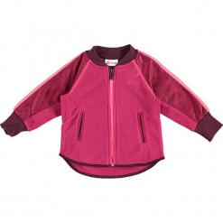 Kardigan w kolorze różowym. Swetry dla dziewczynek marki bonprix. W wyprzedaży za 97.95 zł.