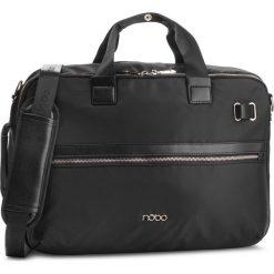 Torba na laptopa NOBO - NBAG-MF0100-C020 Czarny. Czarne torby na laptopa męskie Nobo, z materiału. W wyprzedaży za 279.00 zł.