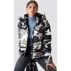 NA-KD Kurtka moro z ociepleniem - Grey,Multicolor. Szare kurtki damskie NA-KD, moro, z jeansu. Za 283.95 zł.