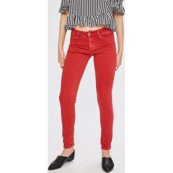 Answear - Jeansy. Czarne jeansy damskie ANSWEAR. W wyprzedaży za 79.90 zł.