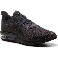 Buty NIKE - Air Max Sequent 3 908993 010 Black/Anthracite. Czarne obuwie sportowe damskie Nike, z materiału. W wyprzedaży za 329.00 zł.