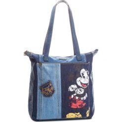 Torebka DESIGUAL - 18WAXD14 5008. Niebieskie torebki do ręki damskie Desigual, z materiału. Za 349.90 zł.