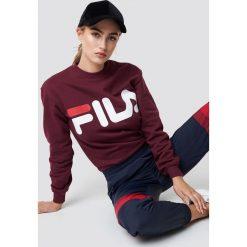 FILA Bluza Classic Logo - Purple. Fioletowe bluzy damskie Fila. Za 202.95 zł.