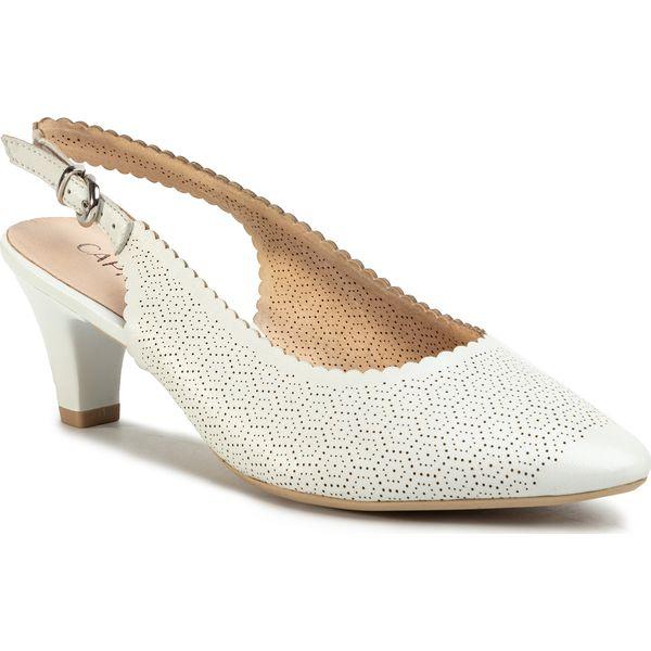 Sandały CAPRICE 9 28201 24 White Perlato 139 Sandały