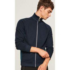 Bluza ze stójką - Granatowy. Niebieskie bluzy męskie Reserved. W wyprzedaży za 59.99 zł.