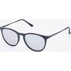 Okulary przeciwsłoneczne - Czarny. Czarne okulary przeciwsłoneczne męskie Reserved. Za 49.99 zł.