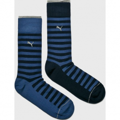 Puma - Skarpety (2-Pack). Niebieskie skarpety męskie Puma, z bawełny. Za 39.90 zł.