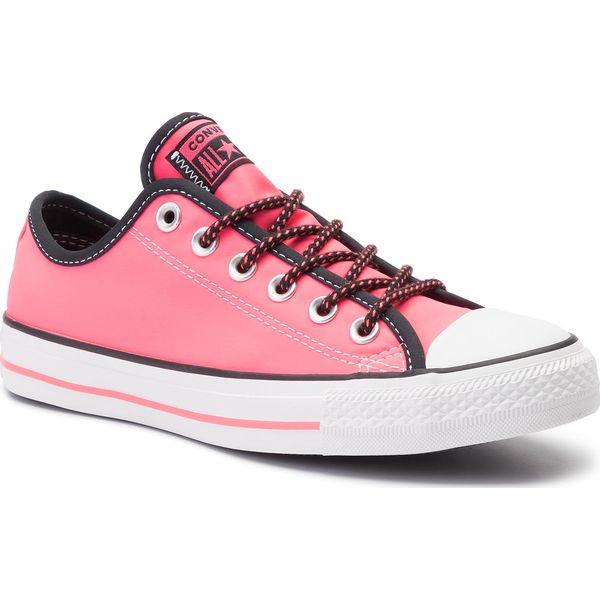 1161b505 Trampki CONVERSE - Ctas Ox 164094C Racer Pink/Black/White - Półbuty ...