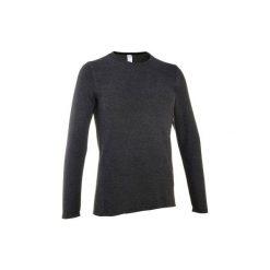 Sweter turystyczny NH100 męski. Czarne swetry przez głowę męskie QUECHUA, z materiału. Za 19.99 zł.
