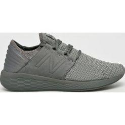 New Balance - Buty. Szare buty sportowe męskie New Balance, z gumy. W wyprzedaży za 329.90 zł.
