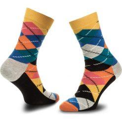 Skarpety Wysokie Unisex HAPPY SOCKS - ARY01-2003 Kolorowy. Skarpety męskie Happy Socks, w kolorowe wzory, z bawełny. Za 34.90 zł.