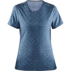 Craft Koszulka damska Mind SS Tee Granatowo-niebieska r. S (1903942-1068). T-shirty damskie Craft. Za 119.00 zł.