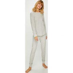 Lauren Ralph Lauren - Piżama. Szare piżamy damskie Lauren Ralph Lauren, z bawełny. Za 439.90 zł.