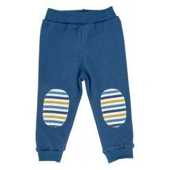 Makoma Chłopięce Spodnie Friends 86 Niebieski. Niebieskie spodnie sportowe dla chłopców Makoma, z bawełny. Za 35.00 zł.