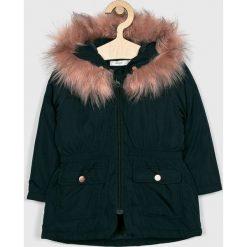 Name it - Parka dziecięca. Czarne kurtki i płaszcze dla dziewczynek Name it, z poliesteru. W wyprzedaży za 199.90 zł.