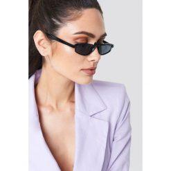 NA-KD Accessories Okulary przeciwsłoneczne retro - Black. Czarne okulary przeciwsłoneczne damskie NA-KD Accessories. Za 52.95 zł.
