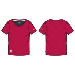 KILLTEC Koszulka damska Abelka czerwona r. L (22132). T-shirty damskie KILLTEC. Za 55.16 zł.