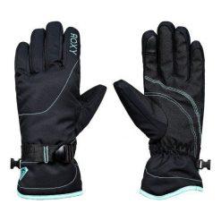 Roxy Rękawiczki Zimowe Rx Jetty So Glo True Black Xl. Czarne rękawiczki damskie Roxy, na zimę, z syntetyku. W wyprzedaży za 139.00 zł.