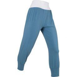 Spodnie haremki, dł. 3/4, Level 1 bonprix niebieski dżins. Spodnie sportowe damskie marki Nike. Za 74.99 zł.