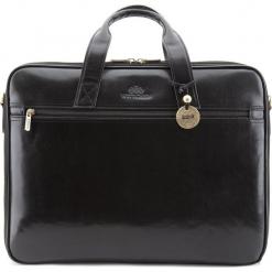 Torba na laptopa 21-3-279-1. Czarne torby na laptopa męskie Wittchen, w paski. Za 1,399.00 zł.