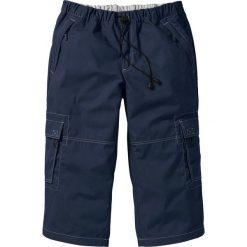 Spodnie 3/4 Loose Fit bonprix ciemnoniebieski. Spodnie sportowe męskie marki bonprix. Za 89.99 zł.