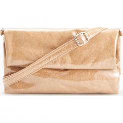 Torebka z połyskiem - Beżowy. Brązowe torebki do ręki damskie Reserved. Za 89.99 zł.