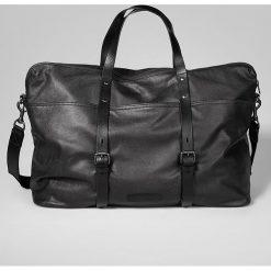 Skórzana torba w kolorze czarnym - 72 x 68 x 28 cm. Torby na ramię męskie marki Kazar. W wyprzedaży za 869.95 zł.