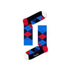 Skarpetki Happy Socks - Argyle (AR01-067). Czarne skarpety męskie marki Giacomo Conti, z bawełny. Za 34.90 zł.